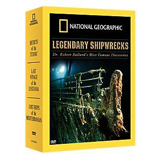 View Mysteries of the Deep: Legendary Shipwrecks DVD Set image
