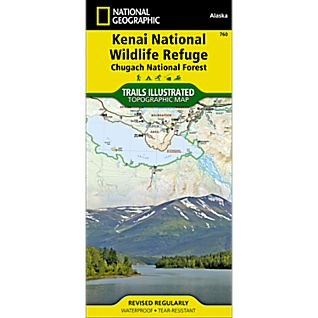 760 Kenai NWR/Chugach National Forest Trail Map