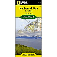 763 Kachemak Bay State Park Trail Map, 1999
