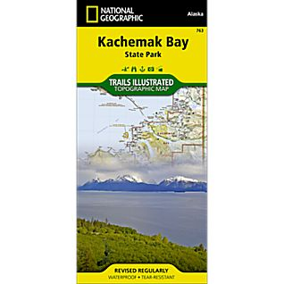 View 763 Kachemak Bay State Park Trail Map image