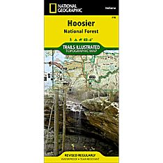 770 Hoosier National Forest Trail Map, 2007