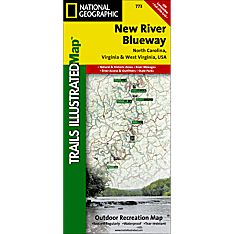 773 New River Blueway Trail Map, 2007