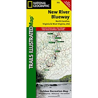View 773 New River Blueway Trail Map image