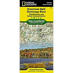 778 Brasstown Bald and Chattooga River Trail Map