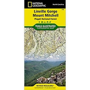 View 779 Linville Gorge/Mt. Mitchell - Pisgah NF Map image