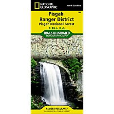 780 Pisgah Ranger District (Pisgah National Forest) Trail Map