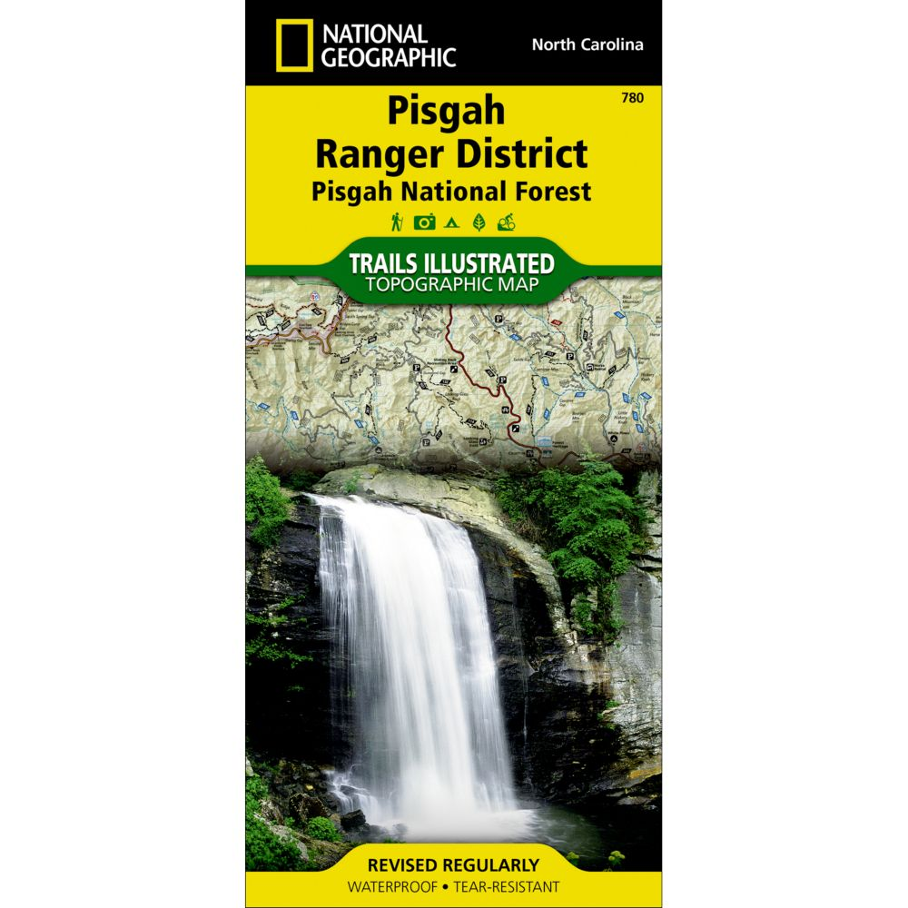 photo: National Geographic Pisgah Ranger District Trail Map