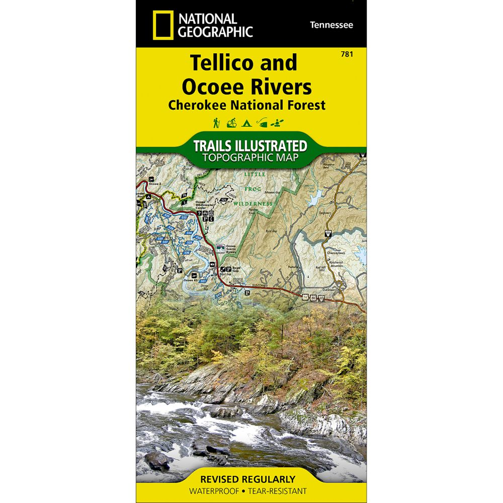 photo: National Geographic Tellico and Ocoee Rivers Map - Cherokee National Forest