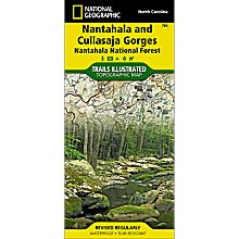 785 Nantahala & Cullasaja Gorges Trail Map, 2002
