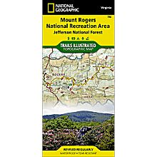 786 Mount Rogers NRA Trail Map, 2003