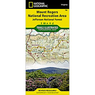 View 786 Mount Rogers NRA Trail Map image