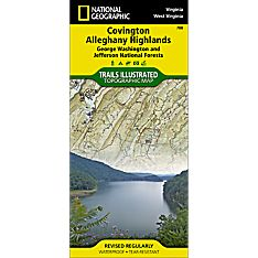 788 Covington, Alleghany Highlands (George Washington and Jefferson National Forests) Trail Map