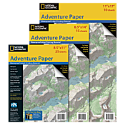 Adventure Paper - Single Pack Letter - 25 Sheets/8.5