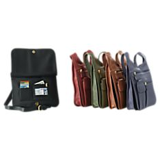Black Leather Bags for Travel