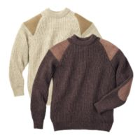 British Women's Clothing - British Wool Walking Sweater