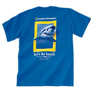 Let's Do Lunch Shark T-Shirt - Adult Sizes