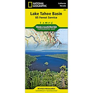 803 Lake Tahoe Basin (US Forest Service) Trail Map