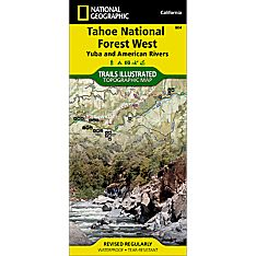 804 Tahoe National Forest West (Yuba and American Rivers) Trail Map