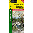 806 Crystal Basin/Silver Fork/Eldorado National Forest Trail Map