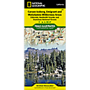 807 Carson-Iceberg, Emigrant, and Mokelumne Wilderness Areas (Eldorado, Humboldt-Toiyabe, and Stanislaus National Forests) Trail Map