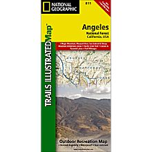 811 Angeles National Forest Trail Map