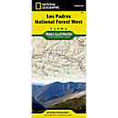 813 Los Padres National Forest, West Trail Map