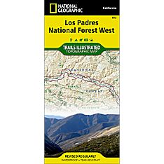National Forests in California Map