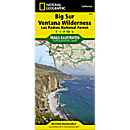 814 Big Sur/Ventana Wilderness - Los Padres National Forest Trail Map