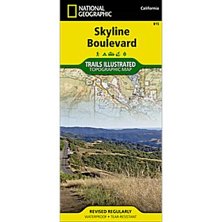815 Skyline Boulevard Parks and Preserves Trail Map