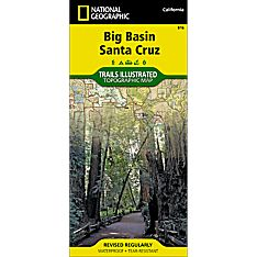 816 Big Basin, Santa Cruz Trail Map