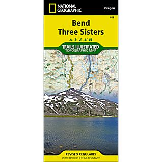 818 Bend, Three Sisters Trail Map
