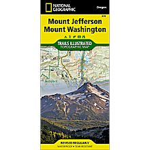 Map of Mount Washington Trails