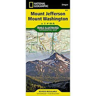 photo: National Geographic Mount Jefferson / Mount Washington Trail Map
