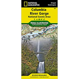 821 Columbia River Gorge Trail Map