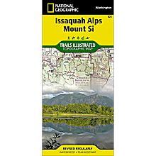 824 Issaquah Alps Trail Map, 2013