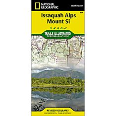 824 Issaquah Alps Trail Map