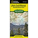 827 Glacier Peak Wilderness Area Trails Map