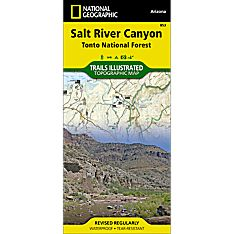 853 Salt River Canyon Trail Map, 2009