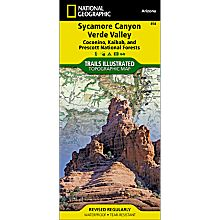 Coconino National Forest Trail Map