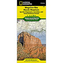 855 Mogollon Rim / Munds Mountain Trail Map, 2010