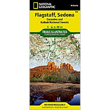 856 Flagstaff / Sedona Trail Map, 2010