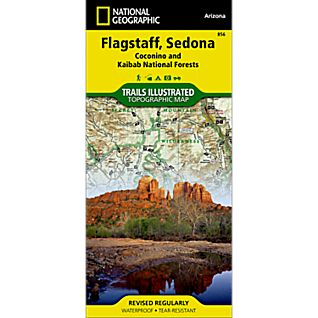 National Geographic Flagstaff/Sedona Map