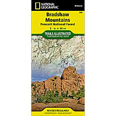 858 Bradshaw Mountains Trail Map, 2010