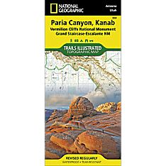 859 Paria Canyon, Kanab Trail Map, 2014