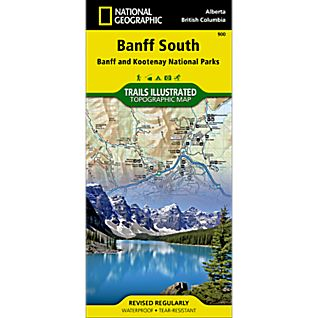 photo: National Geographic Banff South Trail Map