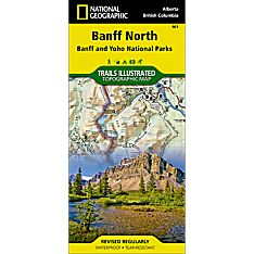 901 Banff North (Banff and Yoho National Parks) Trail Map