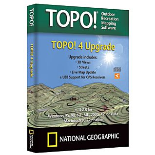TOPO! 4 Upgrade PC Version