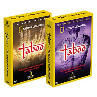 Taboo, Season I & II: 8 DVD Set