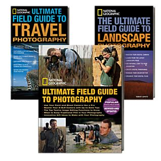 National Geographic Ultimate Photography Field Guide 3 Book Set