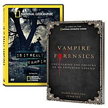 Vampire Forensics Book and DVD Set
